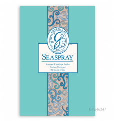 Greenleaf & Bridgwater SEASPRAY  Large Scented Envelope Sachet